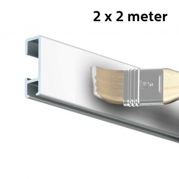 95628 ARTITEQ ALLINONE KIT CLICK RAIL WIT PRIMER 4M