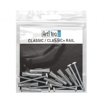 MONTAGESET CLASSIC RAIL 200 CM