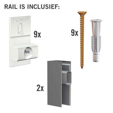 MONTAGESET CLICK RAIL PRO ALU 300 CM