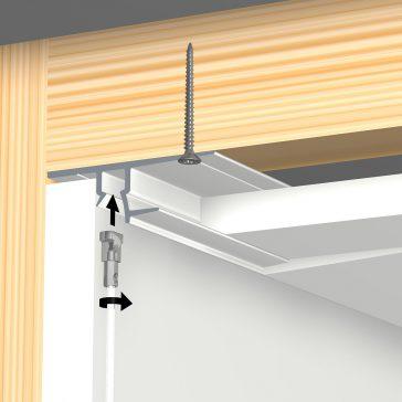 shadowline drywall 13 mm montage