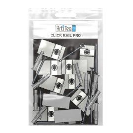 montageset click rail pro wit 200 cm
