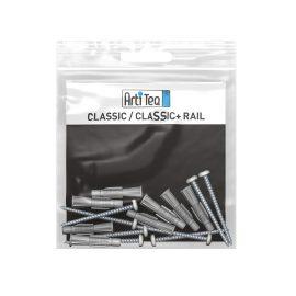 montageset classic rail alu 200 cm