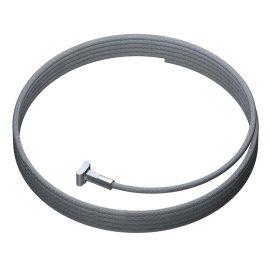solid slider staaldraad 150 cm